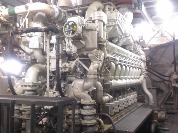 ซ่อมเครื่องยนต์เรือ Diesel ขนาดใหญ่